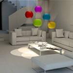 Individuelle Urne hängend als Lampe, Sfera Solidsphere